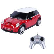 BMW Mini Cooper S 1:24 Remote Control Toy Car Model - Red