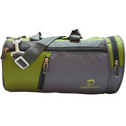 Donex Nylon Green Grey Gym Bag -Rsc01392