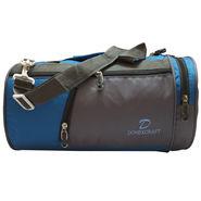 Donex Nylon Blue Grey Gym Bag -Rsc01394