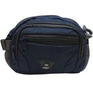 Donex Polyester Blue Waist Pouch -Rsc01457