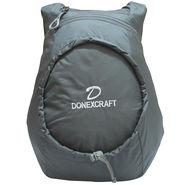 Donex Polyester Black Backpack -Rsc01473
