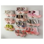 Pink Shoes Shelf Stick Organizer On The Wall - SHSTICKW1P