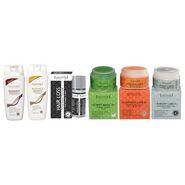Sattvik Organics Hair and Face Grooming  Combo Plus (750g)