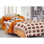 Storyathome 100% Cotton Single Bedsheet with 1 Pillow Cover-SP1211