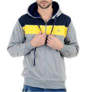 Blended Cotton Full Sleeves Sweatshirt_Swdl9 - Grey