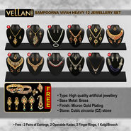 Sampoorna Vivah Heavy 12 Jewellery Set