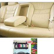 Samsun Car Seat Cover for Tata Manza - Beige
