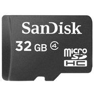 SanDisk 32GB Class4 MicroSDHC Memory Card - Black
