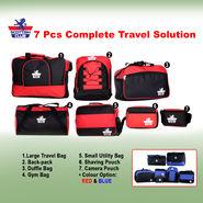 Scottish Club 7 Pcs Complete Travel Solution