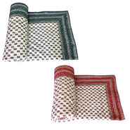 Set of 2 Shop Rajasthan Designer Printed Single Bed AC Quilt-Multicolor- SRM2072/2076
