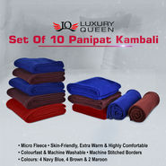 Set of 10 Panipat Kambali
