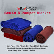 Set of 5 Panipat Blanket