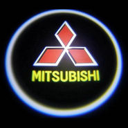 Branded Car Door Welcome Light LED Projection Ghost Shadow Light Laser Mitsubishi Logo