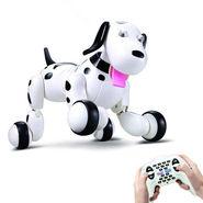 Smart Interactive RC Robo Dog - Black & White