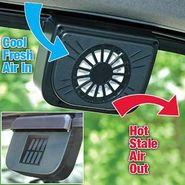 Solar Powered Car Automatic Air Cooling Fan/Ventilation System For Parked Cars-Qube-8615