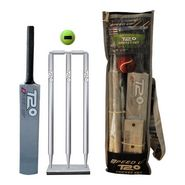 Speed Up Sliver T-20 Wooden Cricket Set Size - 6