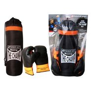 Speed Up The Champ 2pcs Boxing set - Black