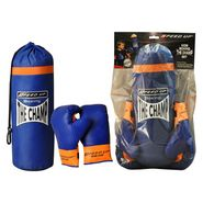 Speed Up The Champ 2pcs Boxing set - Blue
