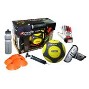 Speed Up 6 Pcs Complete Football Training Set - Yellow