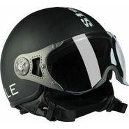 Steelbird SB-27 Style Matt Black Motorbike Helmet - L  (Black)