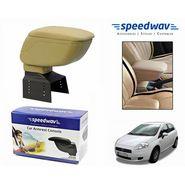 Speedwav Car Armrest Console Beige Color- Fiat Punto