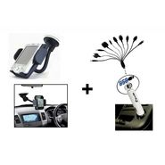 Fly Mobile Holder + Circle 10 in 1 Car Charger