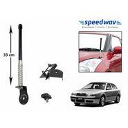 Speedwav Car Front/Rear Stylish VIP Antenna Black-Skoda Octavia