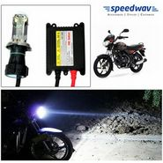 Speedwav Bike HID Headlight Conversion Kit 6000K - Bajaj Discover 125