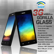 Swipe 3G Mobile with Gorilla Glass