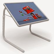 Shoper52 Designer Portable Adjustable Dinner Cum Laptop Tray Table-TABLE006