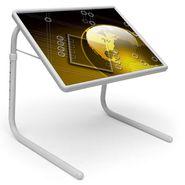 Shoper52 Designer Portable Adjustable Dinner Cum Laptop Tray Table-TABLE056
