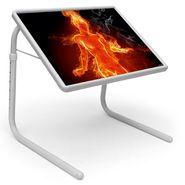 Shoper52 Designer Portable Adjustable Dinner Cum Laptop Tray Table-TABLE101