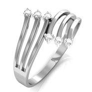 Avsar Real Gold & Swarovski Stone Divya Ring_T034wb
