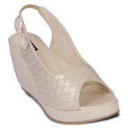 Ten Patent Leather Beige Sandals -ts19