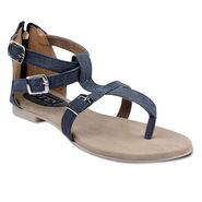 Ten Fabric Womes Sandals For Women_tenbl131 - Black