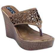 Ten Leather Wedges and Platforms For Women_tenbl227 - Brown