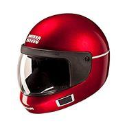 Studds - Full Face Helmet - Premium Vent (Cherry Red) [Large - 58 cms]