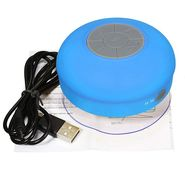 Electron Bluetooth Waterproof Shower Speaker - Blue