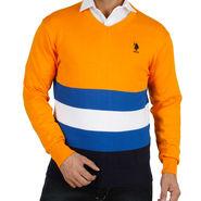 Branded Full Sleeves Sweater_Uspa04 - Yellow