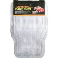 All Car Transparent Mats Slim-Washable-Anti Slip