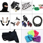 Combo of 10 Utility Accessories for Bikers
