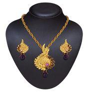 Variation Fashion Purple Attractive Pendant Set_Vd14486