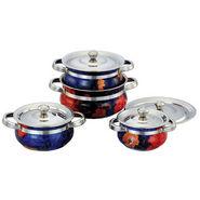 Set of 6 Klassic Vimal 8 Pcs Printed Serving Dish - Multicolor