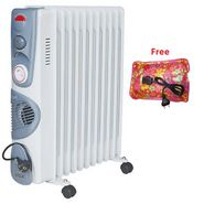 VOX (X-OD11TF) 11 Fin Oil Filled Heater - White