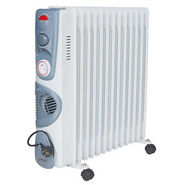 VOX (X-OD13TF) 13 Fin Oil Filled Heater - White