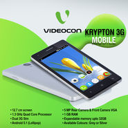 Videocon Krypton 3G Mobile