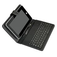 Vox Universal 7inch Tablet Leather Case with inbuilt Keyboard
