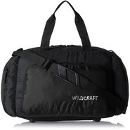 Wildcraft Nylon Black Duffel Bag -sw09