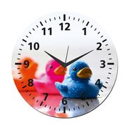 meSleep Chick Wall Clock With Glass Top-WCGL-01-12