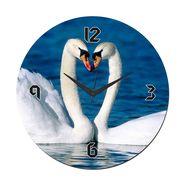 meSleep Ducks Wall Clock With Glass Top-WCGL-01-25